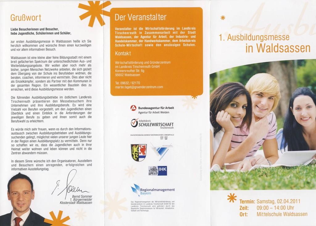 Ausbildungsmesse_Waldsassen-2011-Flyer1