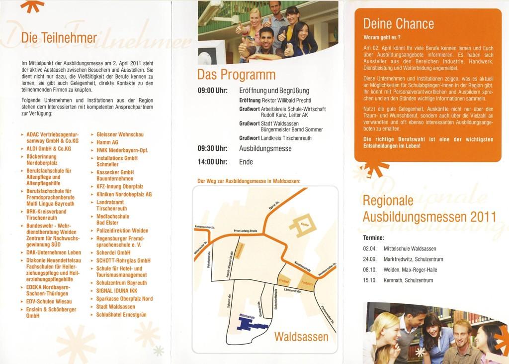 Ausbildungsmesse_Waldsassen-2011-Flyer2